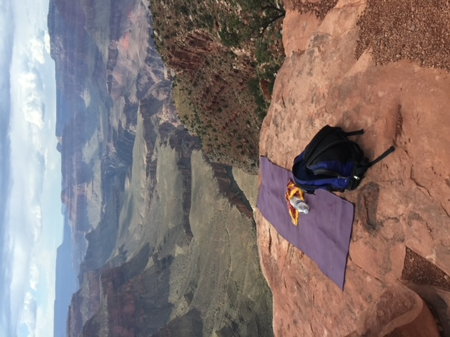 Relaxing in the Grand Canyon at South Kaibab Trail!