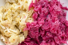 Saurkraut is a fermented food - One of the best probiotics